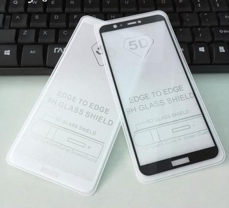 "Zaštitno kaljeno staklo 5D Full Glue za Huawei P Smart, Enjoy 7S (5.65"") 2017"