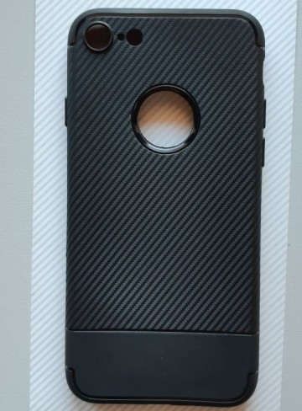 "Maska CARBON za iPhone 7, iPhone 8 (4.7"") crna"