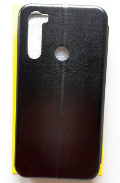 """Preklopna futrola LEATHER za za Xiaomi REDMI Note 8T 2019 (6.3"""") crna"""