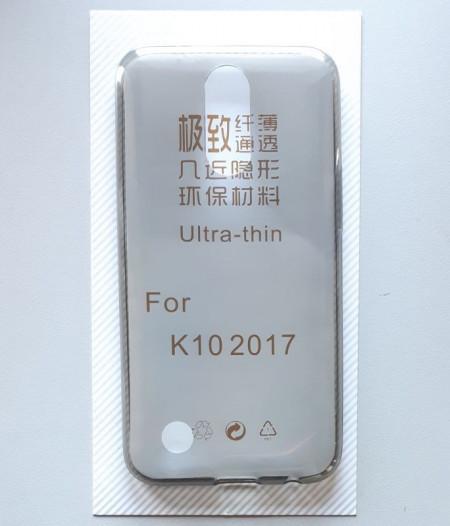 """TPU 0.3mm ultra tanka maska za LG X400, LG M250N, LG K10 2017 (5.3"""") dim providna"""