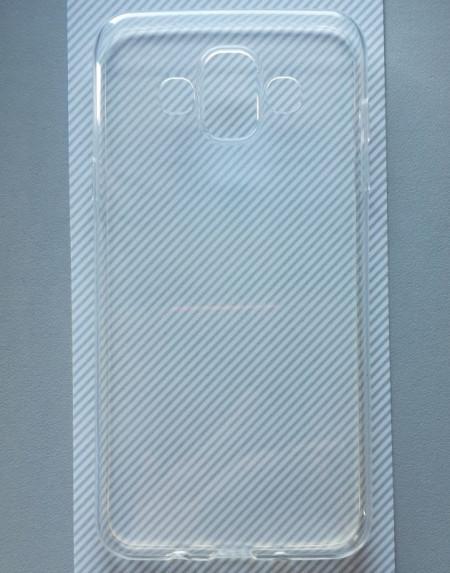 """TPU 0.3mm ultra tanka maska za SM-J720F, Galaxy J7 Duo (5.5"""") 2018, providna"""