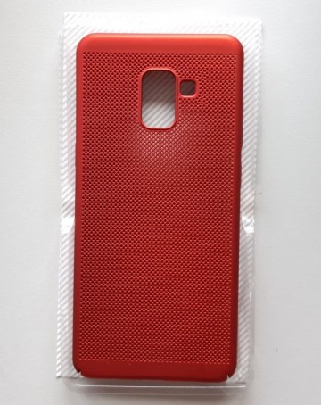 Slika TPU maska BREATH za SM-A730F GALAXY A8 PLUS 2018 red