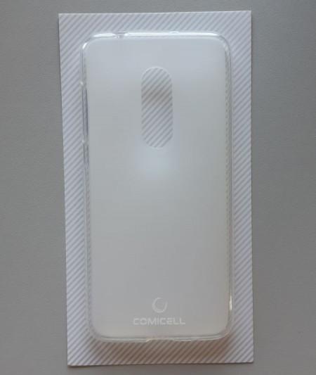 "TPU Maska PUDDING Alcatel OT-5059, Alcatel 1X (5.3"") 2018, BELA"