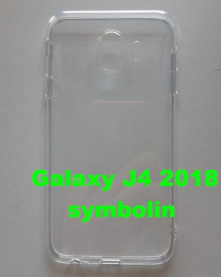 TPU maska za Galaxy SM-J400F Galaxy J4 2018, BELA, ultra tanka 0,3mm