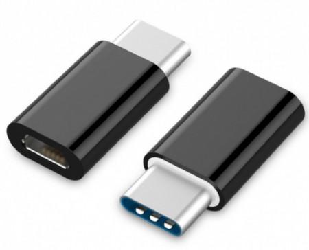 Adapter micro USB 2.0 (ženski) na USB type-C (muški) Gembird A-USB2-CMmF-01