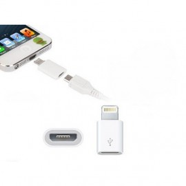 Adapter micro USB na iPhone 5, iPhone 6