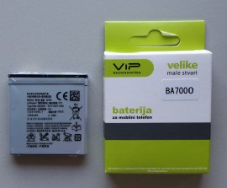 Baterija BA700 za Sony Xperia E, Xperia MIRO, Xperia Ray