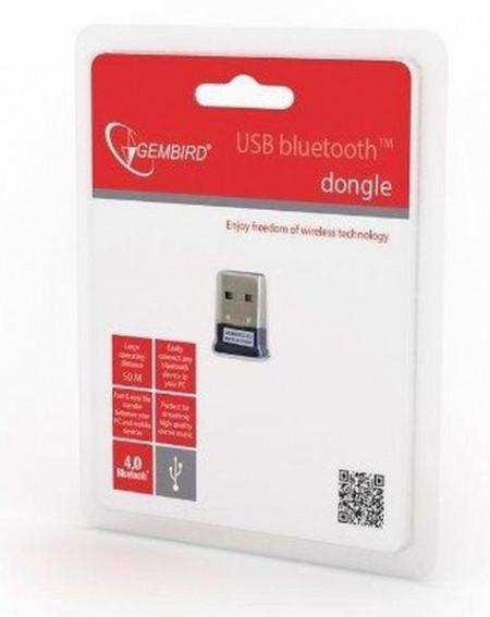 Bluetooth dongle Gembird BTD-MINI5 USB2.0 v4.0, 3MB/s(24Mbps) 8dBm, 50m