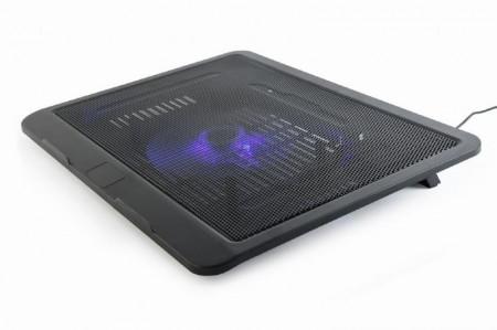 """Kuler, Hladnjak, Postolje za hladjenje laptopa Gembird NBS-1F15-04, 15"""" 120mm Fan, Ergo Stand"""