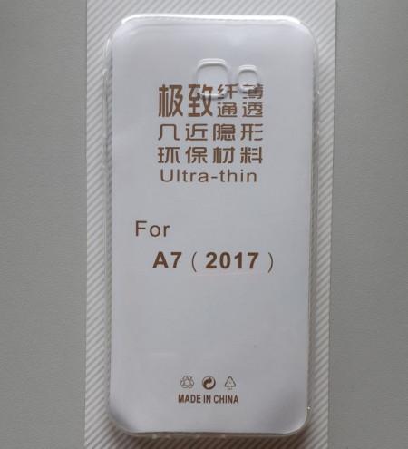 maska 0.3mm ultra tanka za Samsung Galaxy A7 2017, SM-A720F, providna