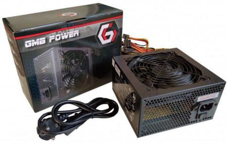 Napajanje ATX Gembird GMB-650-12, 650W 12cm ventilator,20+4pin,4pin,3xSATA,1xIDE 4-pin, 6-pin sa kutijom