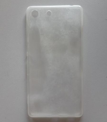 TPU 0,3mm maska za Sony XPERIA M5, providna matirana