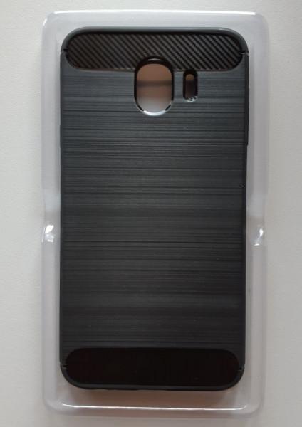 TPU Brushed maska za SM-J400F Galaxy J4 2018, crna