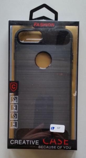 """TPU maska BRUSHED za iPhone 6 PLUS 5.5""""  black"""