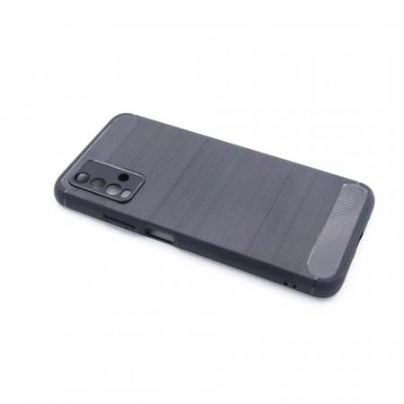 """TPU maska BRUSHED za Xiaomi Redmi Note 9 4G 2020, Xiaomi Redmi 9T 2021 (6.53"""") crna"""