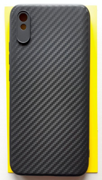 "TPU maska CARBON 0.3mm ultra tanka za Xiaomi Redmi 9A 2020 (6.53"") crna"