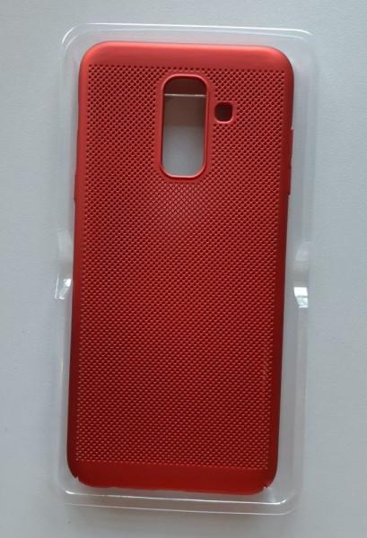 TPU/PC Breath za SM-A605F, GALAXY A6 PLUS 2018, crvena
