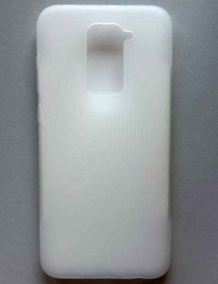 """TPU Pudding maska za Xiaomi Redmi Note 9 2020 (6.53"""") bela"""