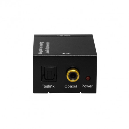 Audio analogno digitalni optički konverter SPDIF-D/A, Toslink kabl