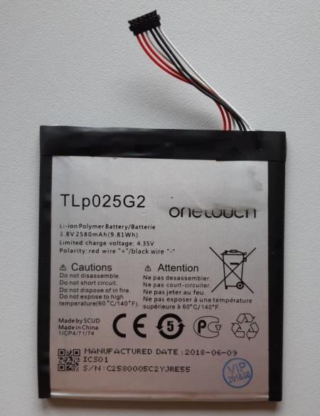 """Baterija TLp025G2 za Alcatel OT-9001 Pixi 4 (6""""), OT-9001, OT-9003, OT-8050, OT-9203A"""