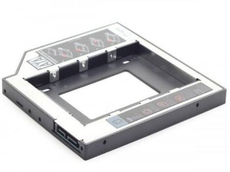 "Fioka za montazu 2.5"" SSD/SATA HDD (do 9.5mm) u 5.25"" leziste u Laptop umesto optike Gembird MF-95-01"