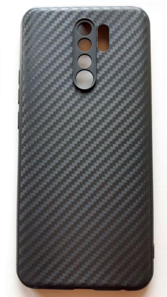 "TPU 0.3mm CARBON maska za Xiaomi Redmi 9 2020 (6.53"") crna"