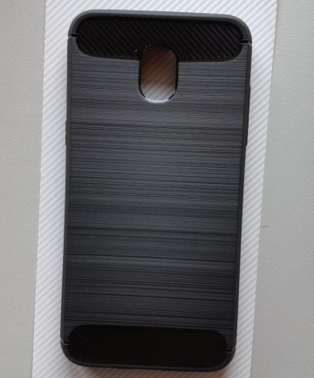 """TPU BRUSHED maska za Galaxy SM-J337, Galaxy J3 2018 (5.0""""), crna"""