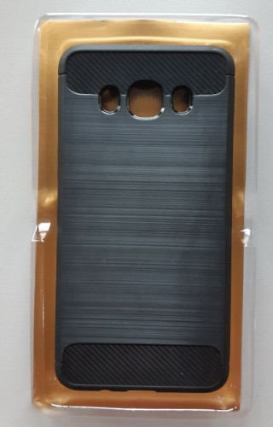 TPU Brushed maska za Samsung SM-J510F J5 2016, crna