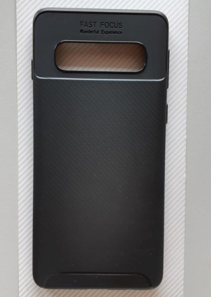 """TPU maska CARBON za Samsung SM-G973F Galaxy S10 2019 (6.1""""), crna"""