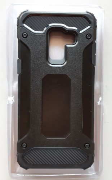 TPU maska DEFENDER za Samsung SM-A530F, Galaxy A8 2018 (crna)