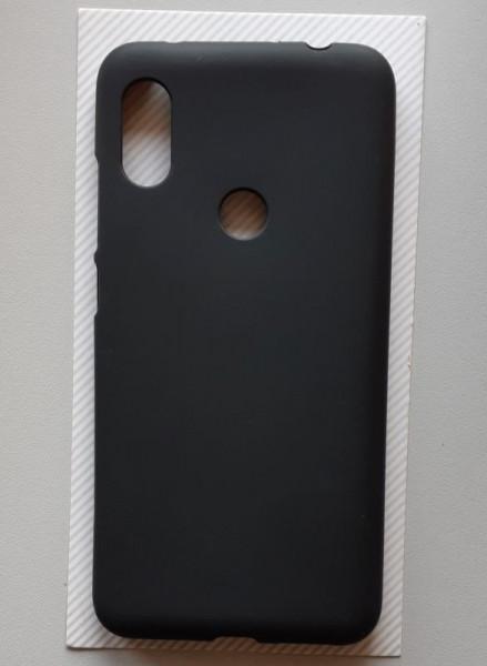 "TPU maska Pudding za Xiaomi Redmi Note 6 Pro 2018 (6.26""), crna"