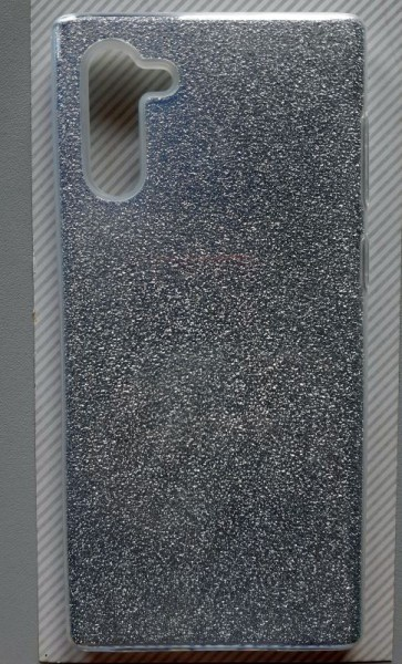 "TPU maska Sparkly SHINE za Samsung SM-N970F, Galaxy Note 10 2019 (6.3""), crna"