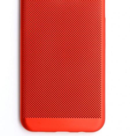 TPU/PC BREATH maska za SM-G950F GALAXY S8, crvena