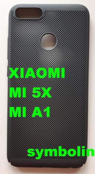 TPU/PC Breath maska za Xiaomi MI 5X, Mi A1 (crna)