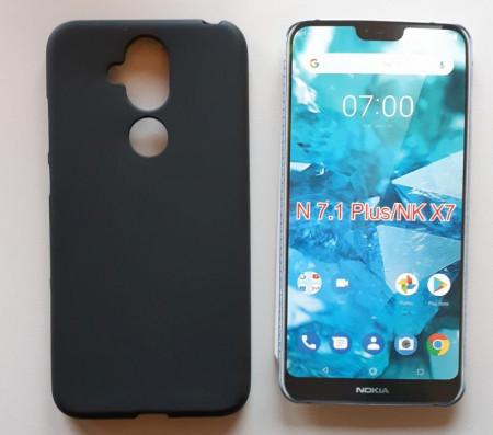 """TPU Pudding maska za Nokia 7.1 plus 2018, Nokia 8.1, Nokia X7 (6.18"""")"""