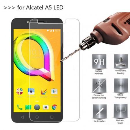"Zaštitno Kaljeno staklo za Alcatel OT-5085, Alcatel A5 LED 2017 (5.2"") RAVNO"