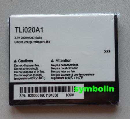 Baterija TLi020A1, TLp020A2 za Alcatel OT-5050, OT-5065, OT POP Star, Pop Star 4G, OT Pop 3 (5),