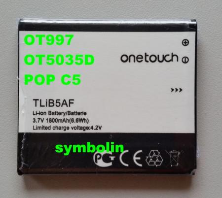 Baterija TLiB5AF za Alcatel OT-997, OT-5035, POP C5