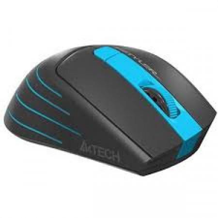 Bežični miš, optički A4Tech A4-FG30 BLUE, 2.4Ghz, 125Hz/1000-1600-2000Dpi, 105mm, USB