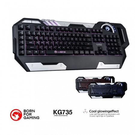Gejmerska tastatura MARVO KG735 LED pozadinsko osvetljenje tastera