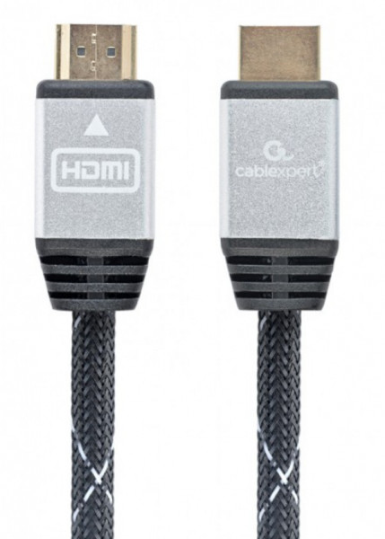 """HDMI kabl, High speed,ethernet support 3D/4K TV """"Select Plus Series"""" CCB-HDMIL-1M Gembird1 1m"""