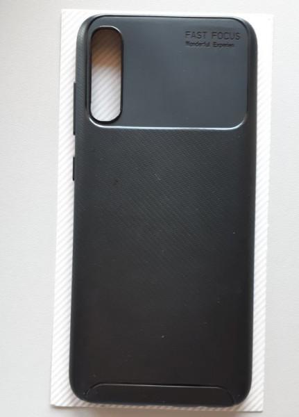 "maska tipa CARBON za Samsung SM-A705F Galaxy A70 2019 (6.7"") crna"