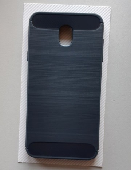 TPU BRUSHED maska za Samsung SM-J737, Galaxy J7 2018, tamno plava