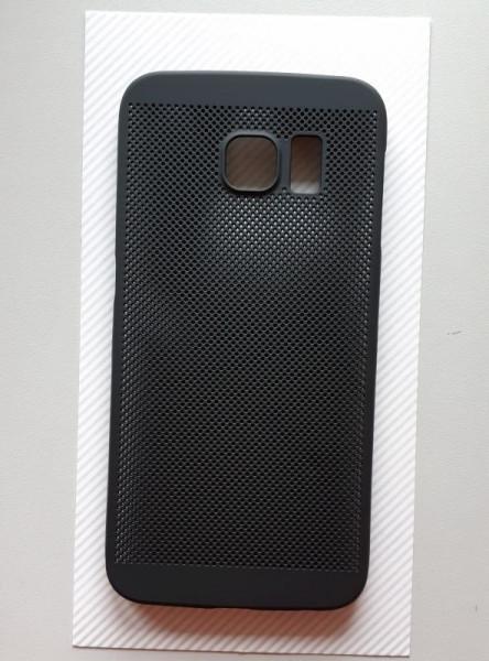 TPU maska BREATH za Samsung Galaxy S6 Edge 2015, SM-G925F, crna
