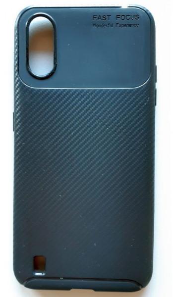 "TPU Maska CARBON Samsung SM-A015F, Galaxy A01 2020 (5.7"") crna"