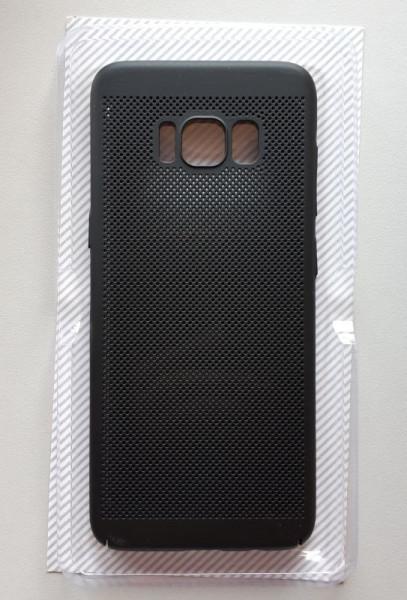 TPU/PC BREATH maska za SM-G950F GALAXY S8, crna