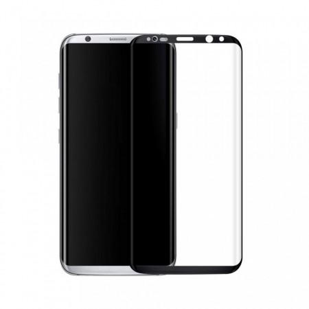 Zaštitno Kaljeno staklo Tempered Glass SM-G955U Galaxy S8 Plus zakrivljeno sa crnim rubom