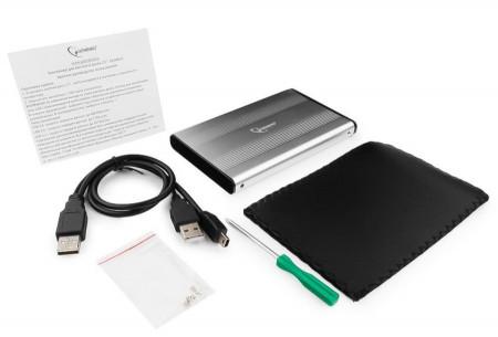 """Externo kuciste USB 2.0 za 2.5"""" SATA hard diskove Gembird EE2-U2S-5"""