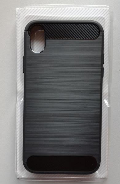 """Maska BRUSHED za IPhone XR (6.1"""") 2018, crna"""