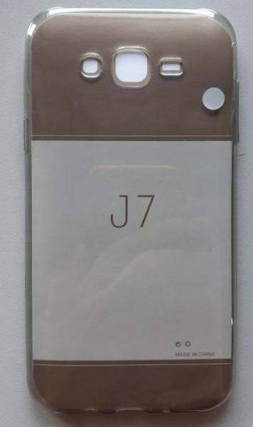 Maska silikonska za GALAXY J7 Prime 2017 SM-J727 J7 Perx, J7 Verizon, dim providna